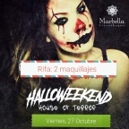Fiesta Paint Party Halloween. 27 Octubre. 9PM.